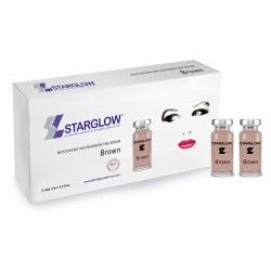 MOISTURIZING AND REGENERATING SERUM BROWN STARGLOW ( 5 VIALES-8ML )