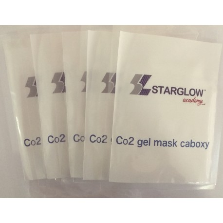 CO2 GEL MASK CARBOXY ( PACK 5 UNID )